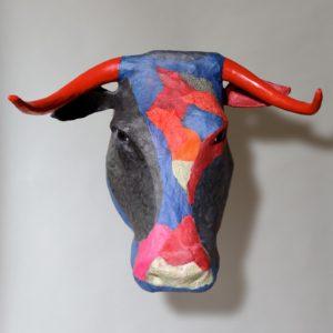 Emmanuelle Siary, COW (2014 - Sculpture papier)